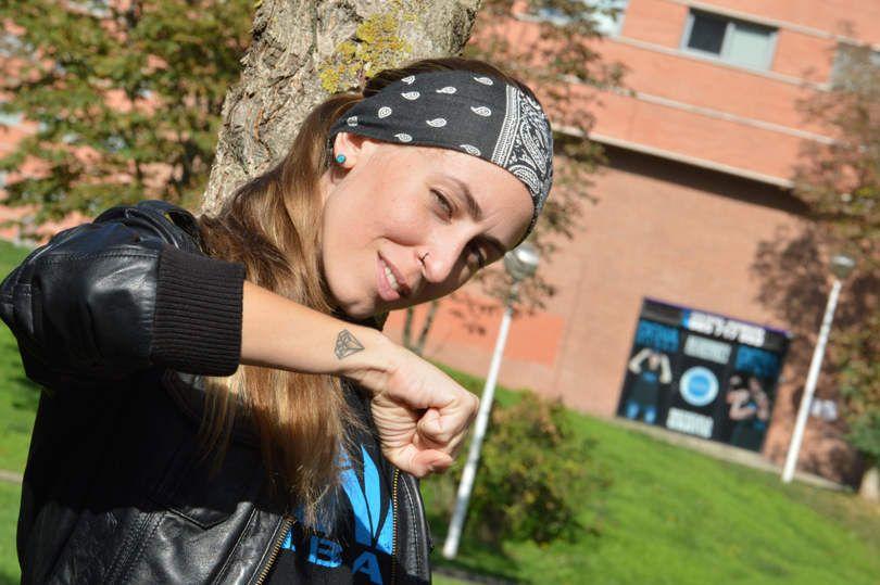 Lydia Rodriguez directora de la academia de baile moderno DENA BILBAO